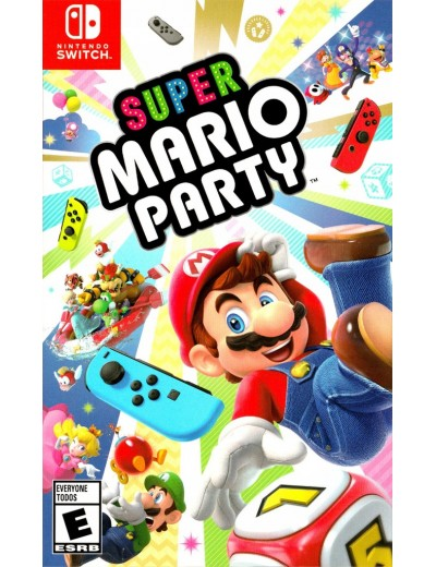 Super Mario Party Nintendo Switch ANG Nowa