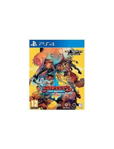 Streets of Rage 4 PS4 ANG Używana
