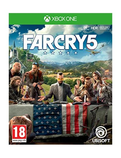 Far Cry 5 XBOXOne POL Używana