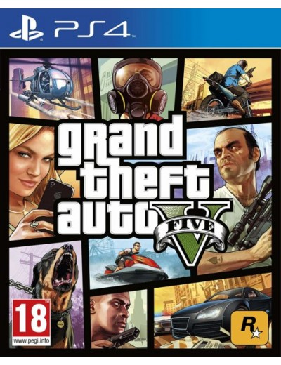 GTA V Premium Edition PS4 POL Nowa
