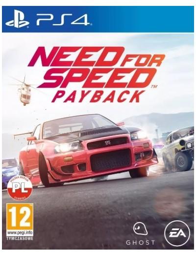 Need For Speed Payback PS4 POL Używana