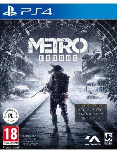 Metro Exodus PS4 POL Używana
