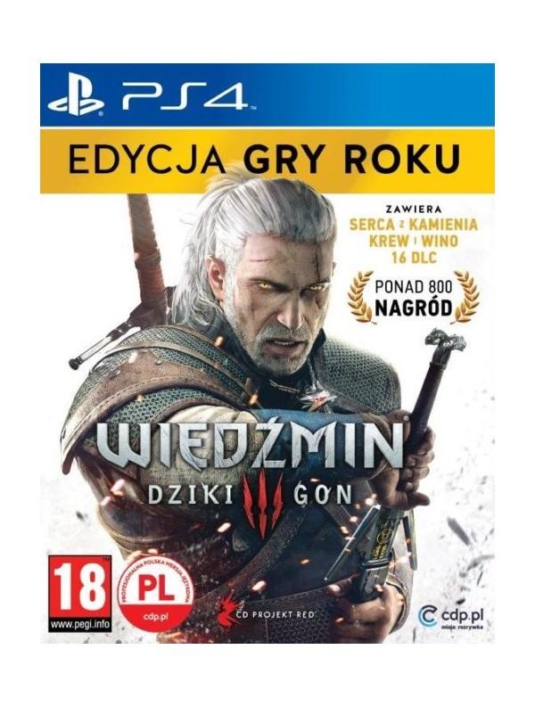 Wiedźmin 3 Dziki Gon GOTY PS4 POL Używana
