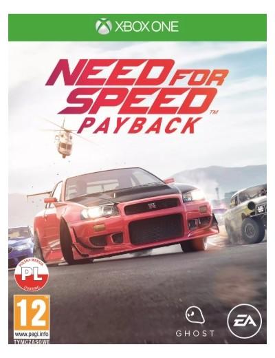 Need For Speed Payback XBOXOne POL Używana