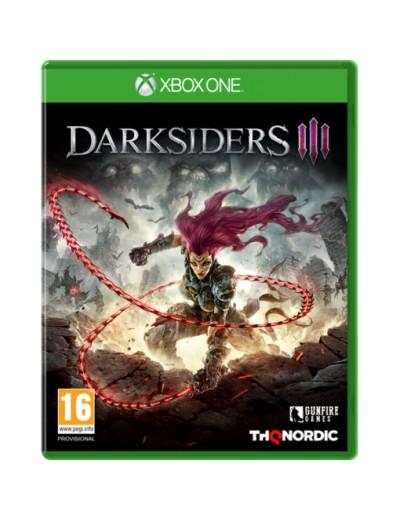 Darksiders III XBOXOne POL Używana