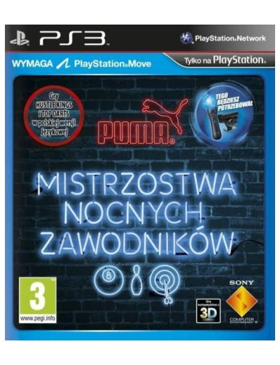 Mistrzostwa Nocnych Zawodnik PS3 POL Używana