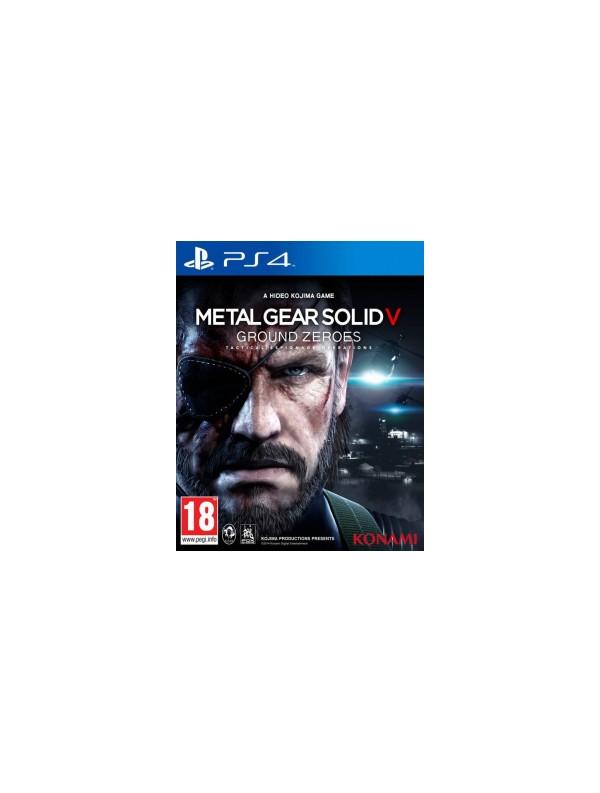 Metal Gear Solid 5: Ground Zeroes PS4 ANG Używana