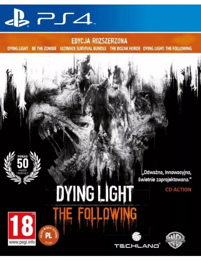 Dying Light: The Following PS4 POL Używana