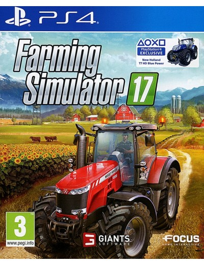 Farming Simulator 17 PS4 POL Używana