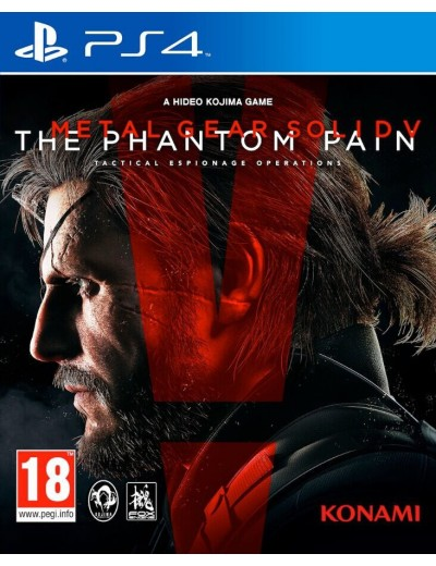 Metal Gear Solid 5: The Phantom Pain PS4 ANG Używana