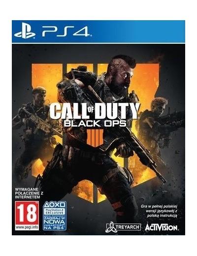 Call of Duty: Black Ops IIII PS4 POL Używana