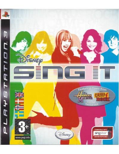 Disney Sing It PS3 ANG Używana
