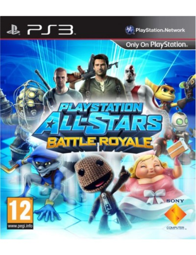 Playstation All Stars Battle Royale PS3 POL Używana