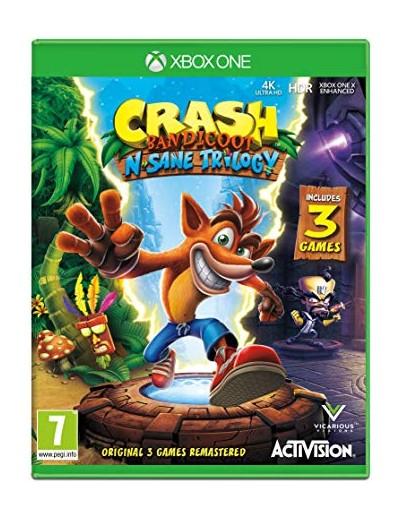 Crash Bandicoot N'Sane Trilogy XBOXOne ANG Używana