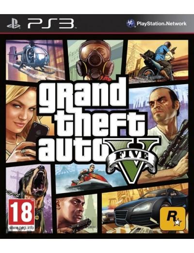 GTA V, GTA 5 PS3 POL Używana
