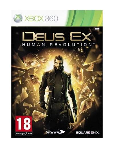 Deus Ex: Human Revolution XBOX360 ANG Używana
