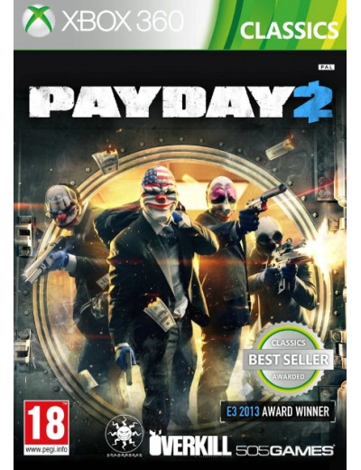 Payday 2 XBOX360 ANG Używana