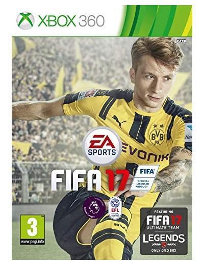 FIFA 17 XBOX360 POL Używana