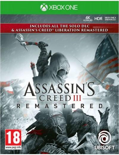 Assassin's Creed III Remastered XBOXOne POL Używana