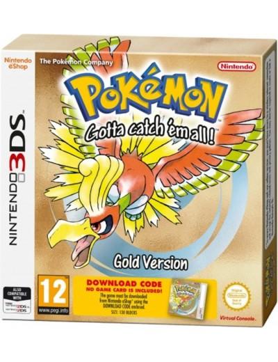 Pokemon Gold 3DS ANG Nowa