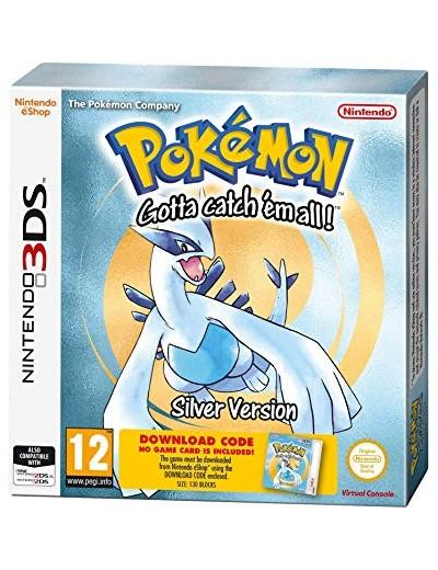 Pokemon Silver 3DS ANG Nowa