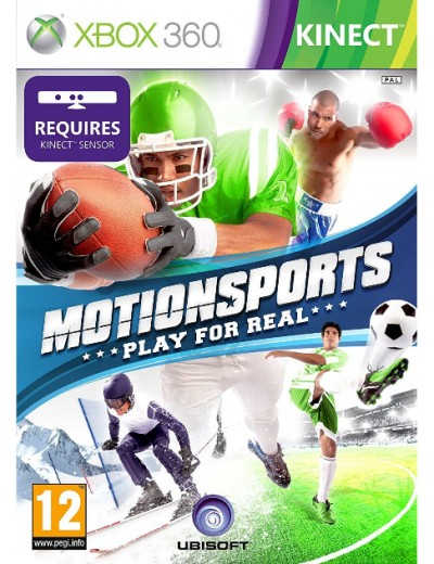 Motion Sports: Play For Real XBOX360 ANG Używana