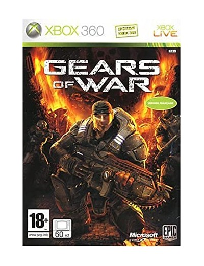 Gears of War XBOX360 ANG Używana
