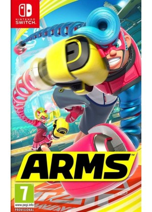 ARMS Nintendo Switch ANG Nowa