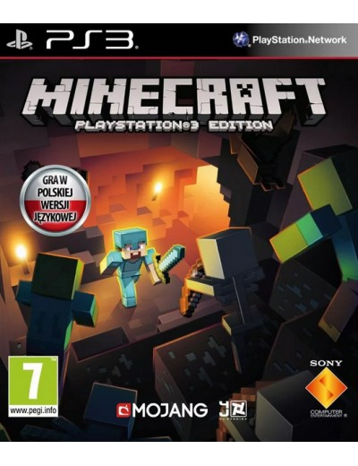 Minecraft Playstation 3 Edition PS3 POL Nowa