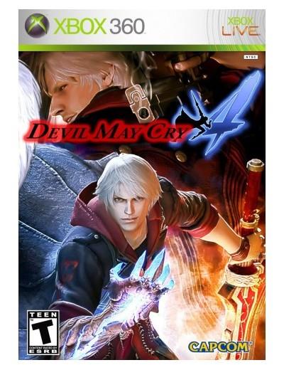 Devil May Cry 4 XBOX360 ANG Używana