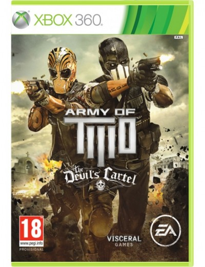 Army of Two: The Devils Cartel XBOX360 ANG Używana