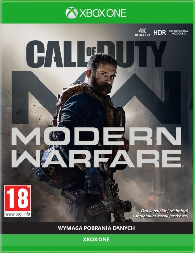 Call of Duty Modern Warfare 2019 XBOXOne POL Używana