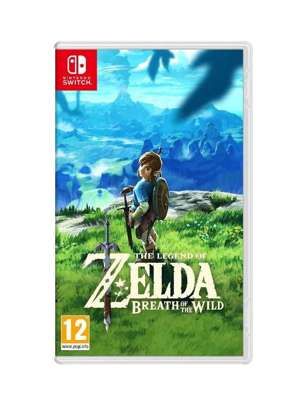 The Legend of Zelda: Breath of the Wild Nintendo Switch ANG Używana