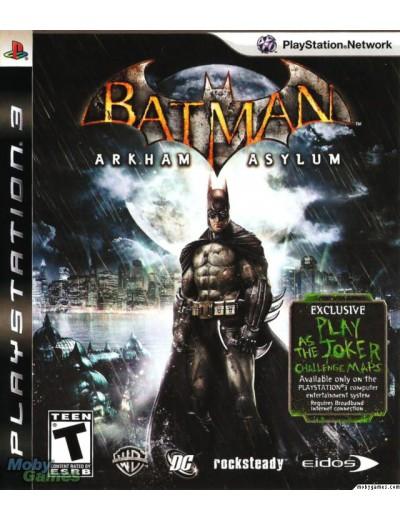 Batman: Arkham Asylum PS3 ANG Używana