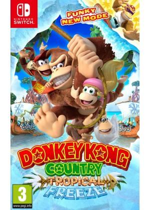 Donkey Kong Country: Tropical Freeze Nintendo Switch ANG Używana