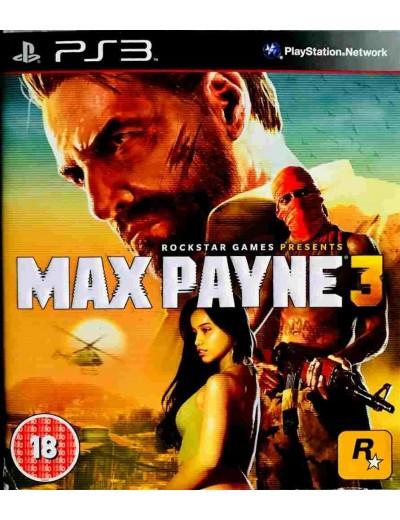 Max Payne 3 PS3 ANG Używana