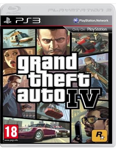 GTA IV PS3 ANG Używana