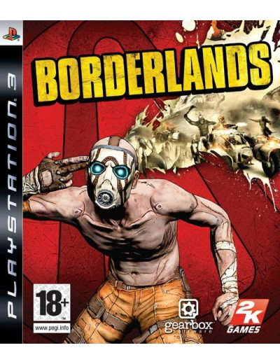Borderlands PS3 ANG Używana