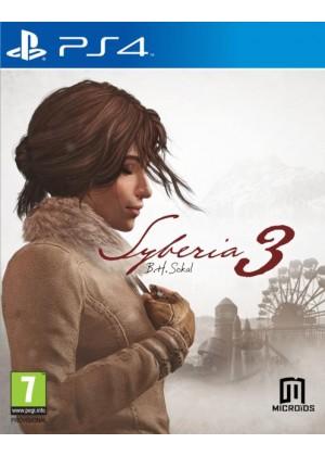 Syberia 3 PS4 POL Używana