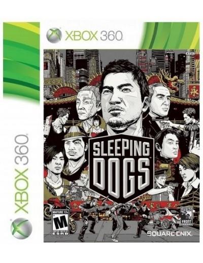 Sleeping Dogs XBOX360 ANG Używana