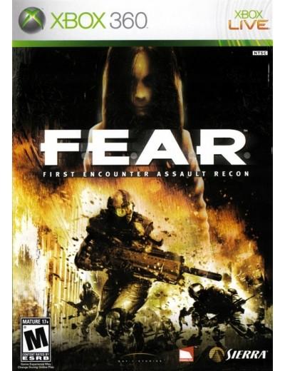 FEAR XBOX360 ANG Używana