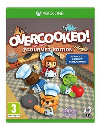 Overcooked Gourment Edition XBOXOne ANG Nowa