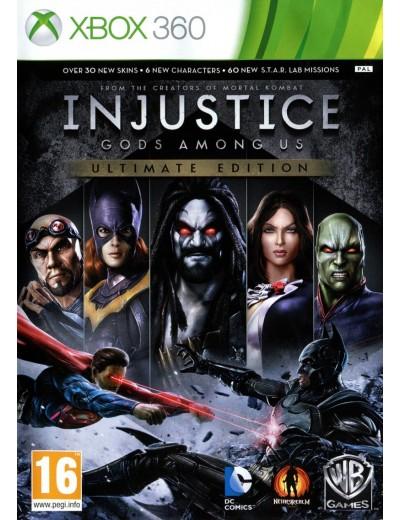 Injustice: Gods Among Us Ultimate Edition XBOX360 ANG Nowa