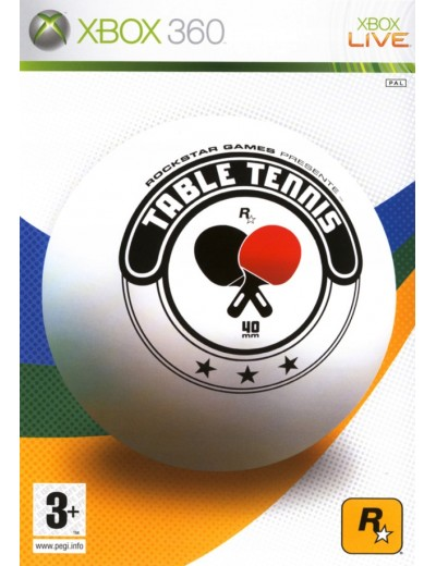 Table Tennis XBOX360 ANG Używana