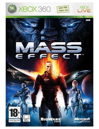 Mass Effect 1 XBOX360 POL Używana