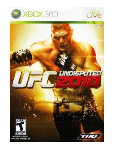 UFC Undisputed 2010 XBOX360 ANG Używana