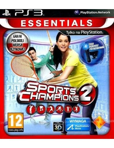 Sports Champions 2 PS3 POL Używana